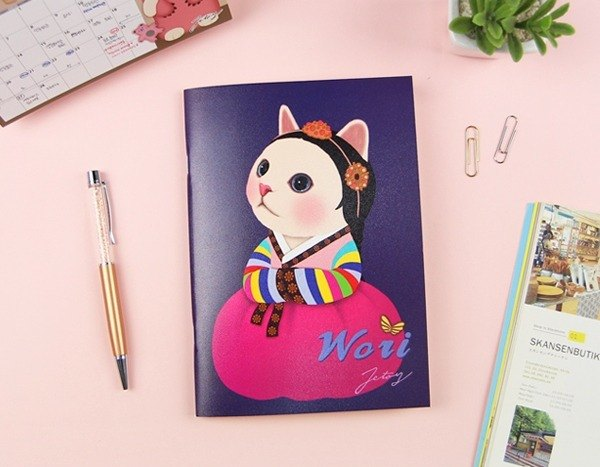 JETOY, Sweet Cat Play Notebook (B5 Bar)_Wori J1704407