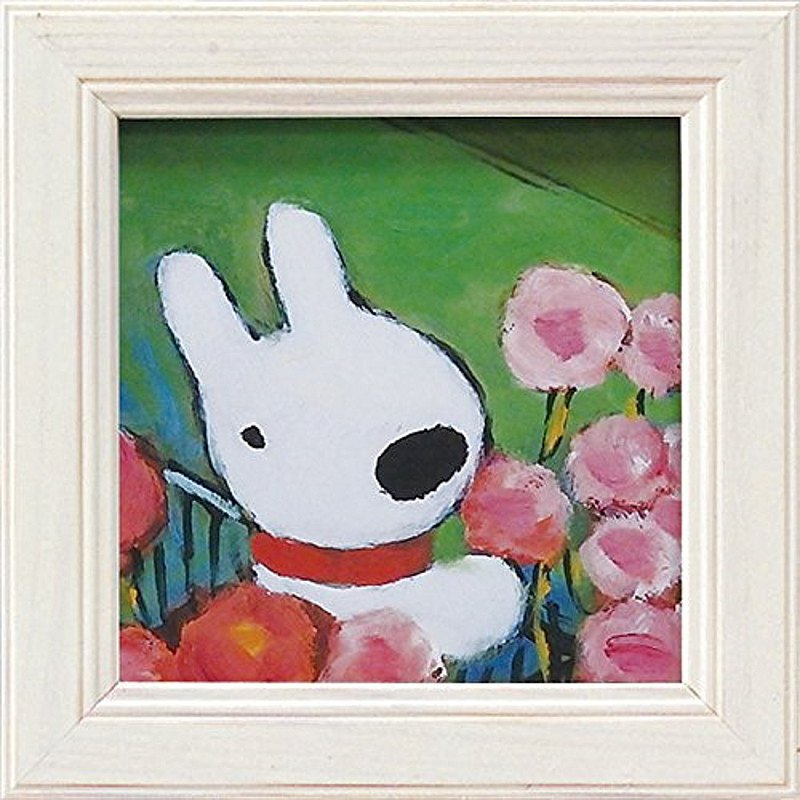 Lisa and Casper-Miniature Framed Copy Painting-Gift for Mom