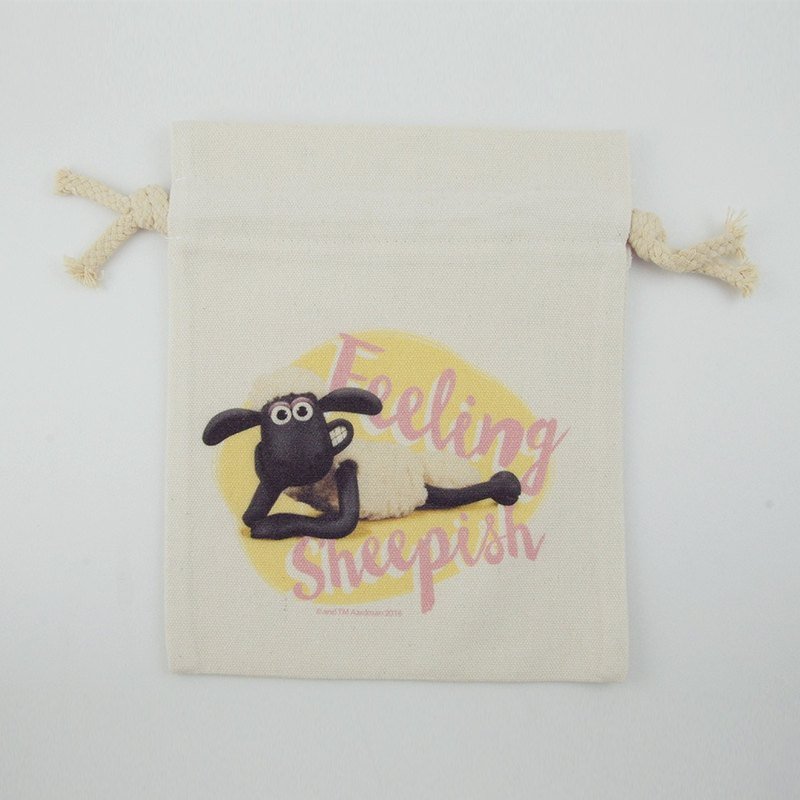 Smiled sheep genuine authority (Shaun The Sheep) - Pouch (Small): ZZ [sheep]