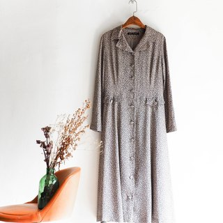 River Water Mountain - Fukuoka broken point fine classic elegant log antique dress silk dress overalls oversize vintage dress