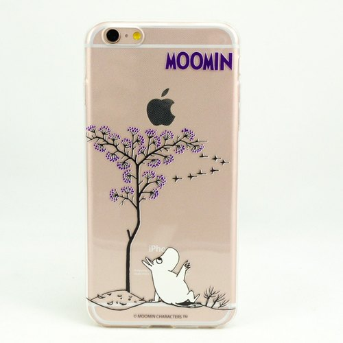 "Moomin Moomin genuine authority -TPU phone case: [laid] ""iPhone / Samsung / HTC / ASUS / Sony / LG / millet / OPPO"""