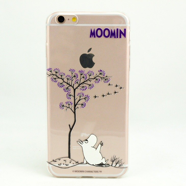 Moomin glutinous rice genuine license - TPU mobile phone protective case - [leisure]