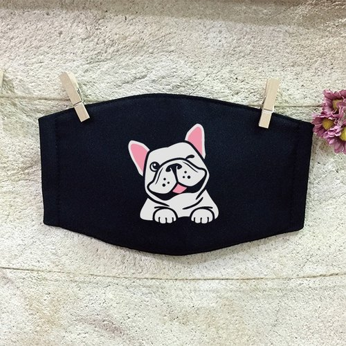 [NINKYPUP Reflective Mask] French Bulldog