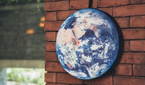 Earth profile cushion