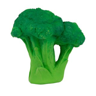 Spain Oli&Carol Healthy Fruits and Vegetables Series - Cauliflower - Natural Non-toxic Rubber Gusset / Bath Toys / Green Toys