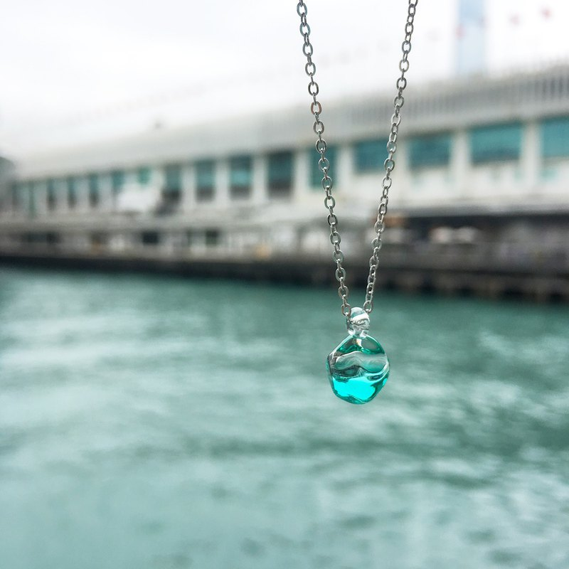 Mini ice glass necklace