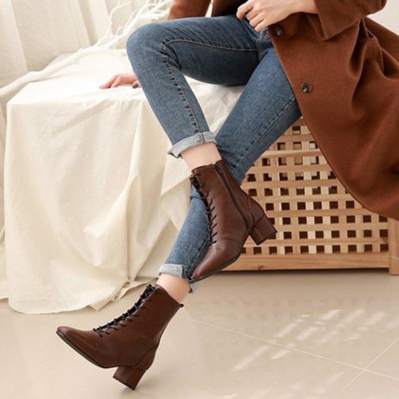 PRE-ORDER 韓國人手製 MACMOC STEPANI (Brown) 短靴
