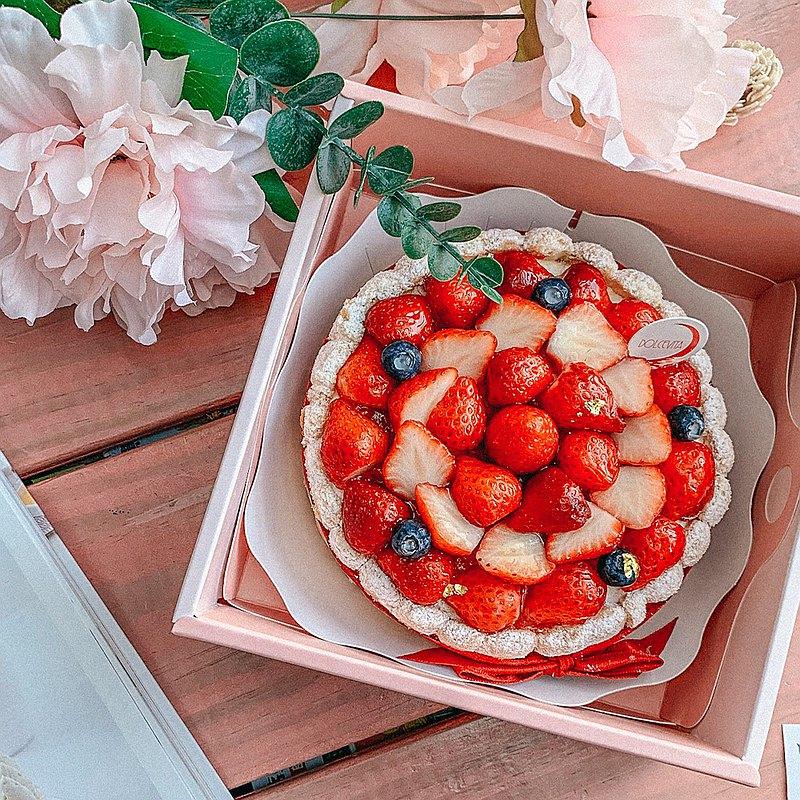 多茄米拉│草莓白巧克力慕斯蛋糕(六吋)