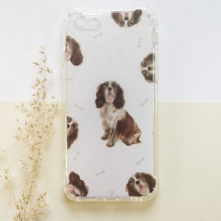 Home Dogs | Basset Hound | Mobile Shell - Customized Handwriting and Word Drop Resistant Shell
