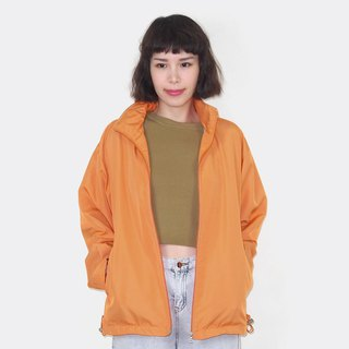 Bright orange retro windproof vintage jacket BM3003