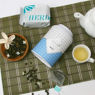 Fiber fresh jasmine (jasmine green tea Jin Xuan) Canned Series / Triangle tea bags of herbal tea] [HERDOR