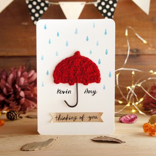 Valentine's card - miss you - the best mind handmade custom cards