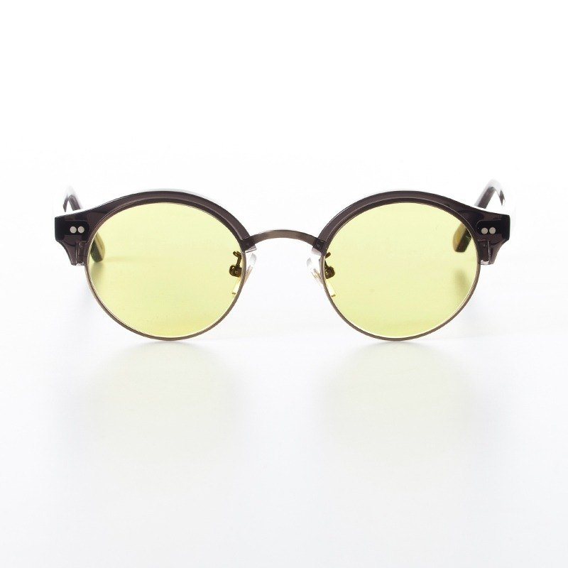 ALFIE CHARCOAL - SUNGLASSES IN YELLOW