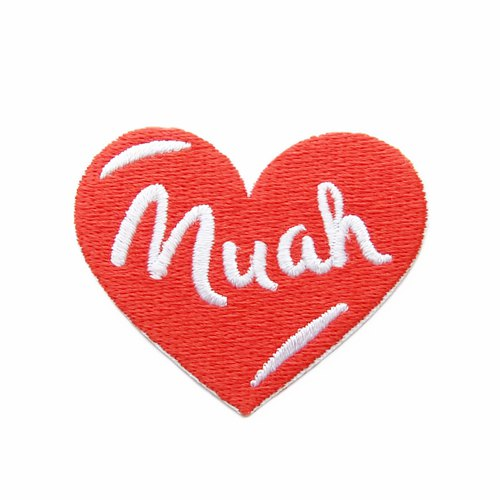 Muah - embroidered patch