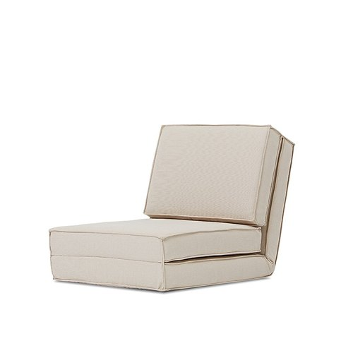 Otaru AJ2 │ │ │ single-seater off-white petals and room sofa chair