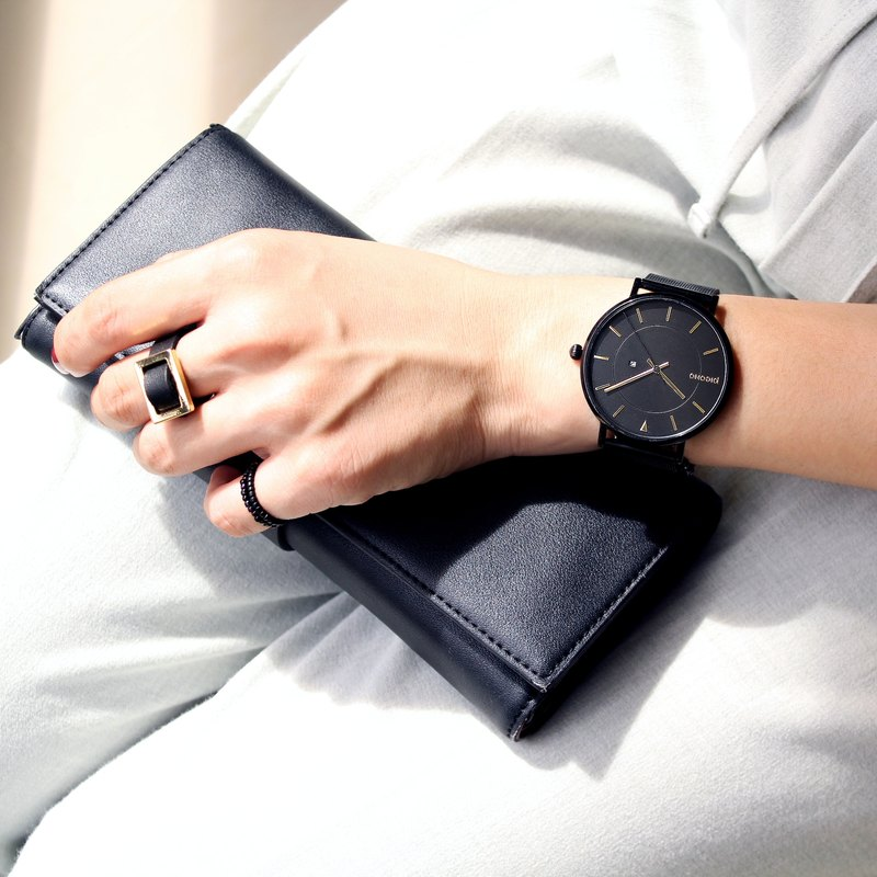 【PICONO】RGB collection quickly release stainless steel strap watch / RGB-6502