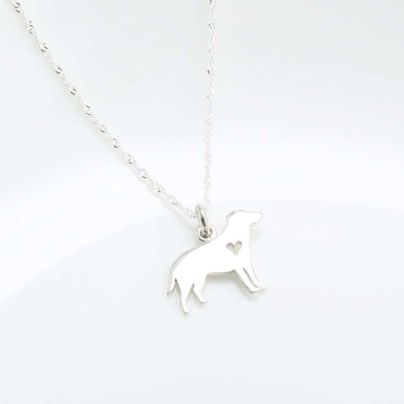 Labrador Dog s925 sterling silver necklace Birthday Valentine's Day gift