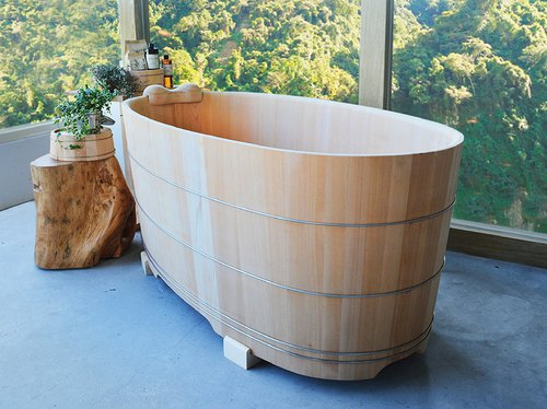 Cedarwood bath barrel 3 feet / 3.5 feet / 4.2 feet / 4.6 feet (customized custom-made)