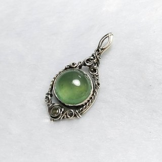 <Pure Silver Series> Grape Stone Design Pendant