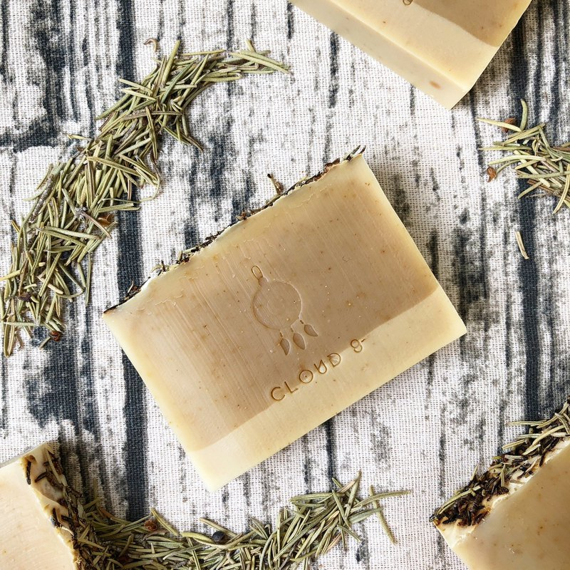 Mint rosemary anti-acne soap travel soap / shampoo / anti-acne cool feeling