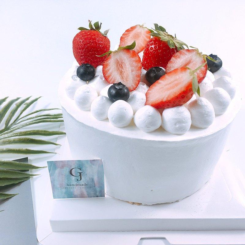 莓莓遇見妳 生日蛋糕 客製蛋糕 季節限定 4 6 8吋 宅配