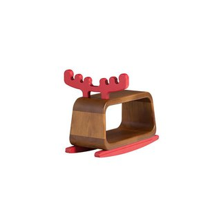Chair stool. Small rock moose ─ 【love door】