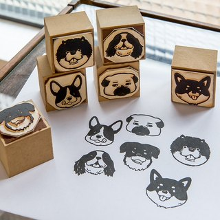 Dog Party - OURS DIY Stamp Set - by Koopa