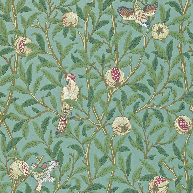 Morris Bird & Pomegranate Birds & Pomegranates