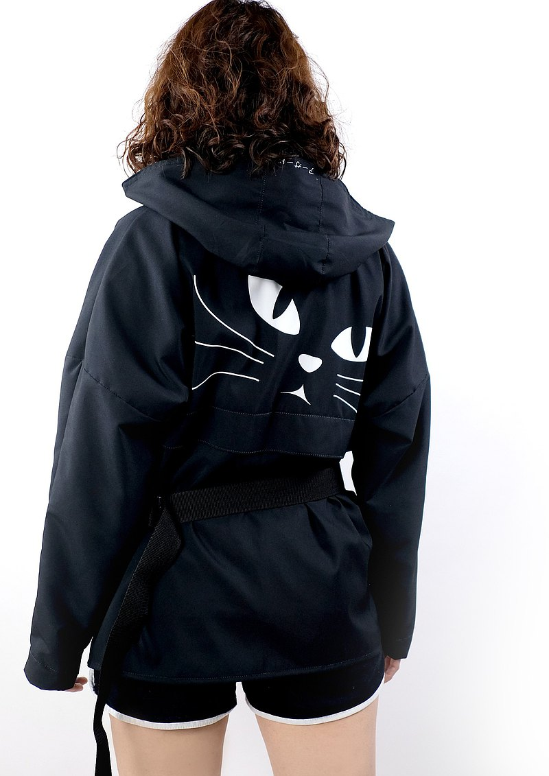 Jacket with Hood /  Cat-lovers
