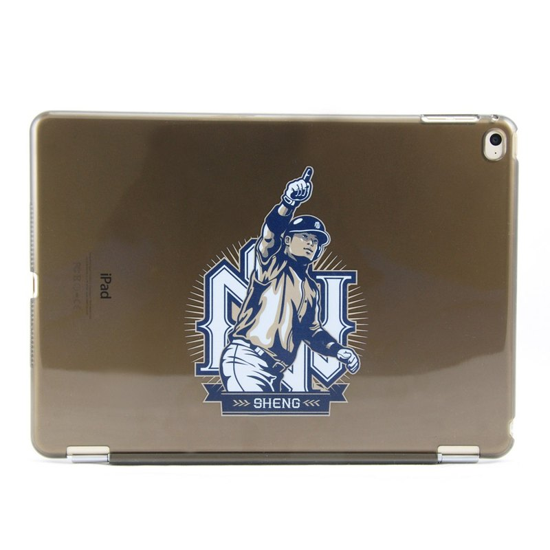 Chinese Professional Baseball League [] Lin Chih-sheng custom - iPad mini protective shell horizontal version