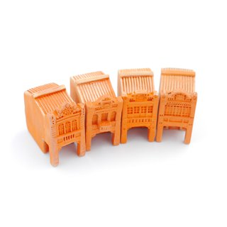 Sanwa tile kiln - old street house series (four sets), holy gift