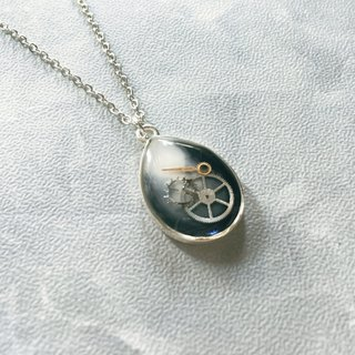 Frozen Time | Droplet Necklace