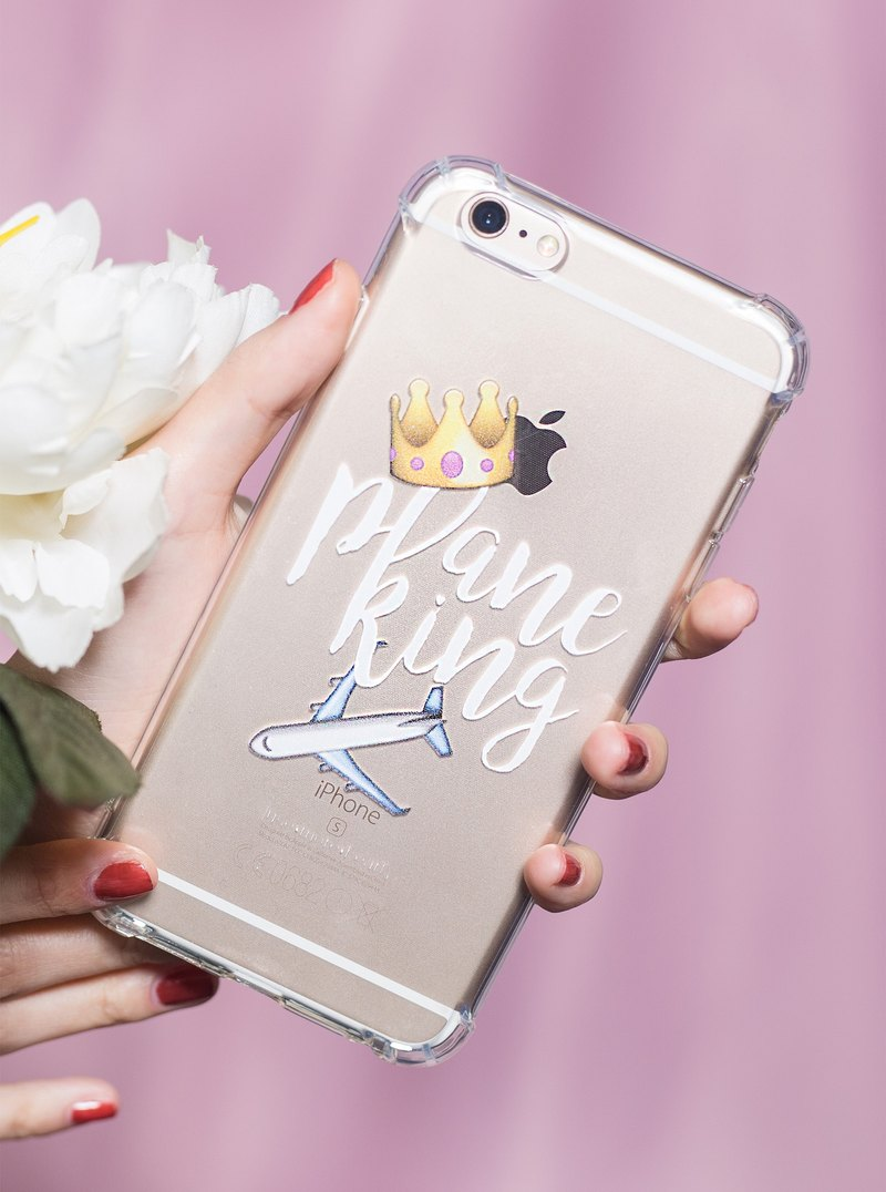 Use More Heart Personality Canton Slang iPhone Case - Plane King