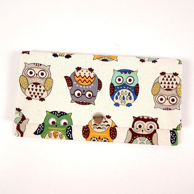Red envelope passbook cash pouch - Replica Owl