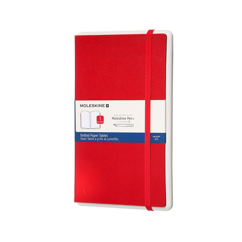 MOLESKINE Smart Supplement - L-Line - Dotted Red - Hot Stamping Service