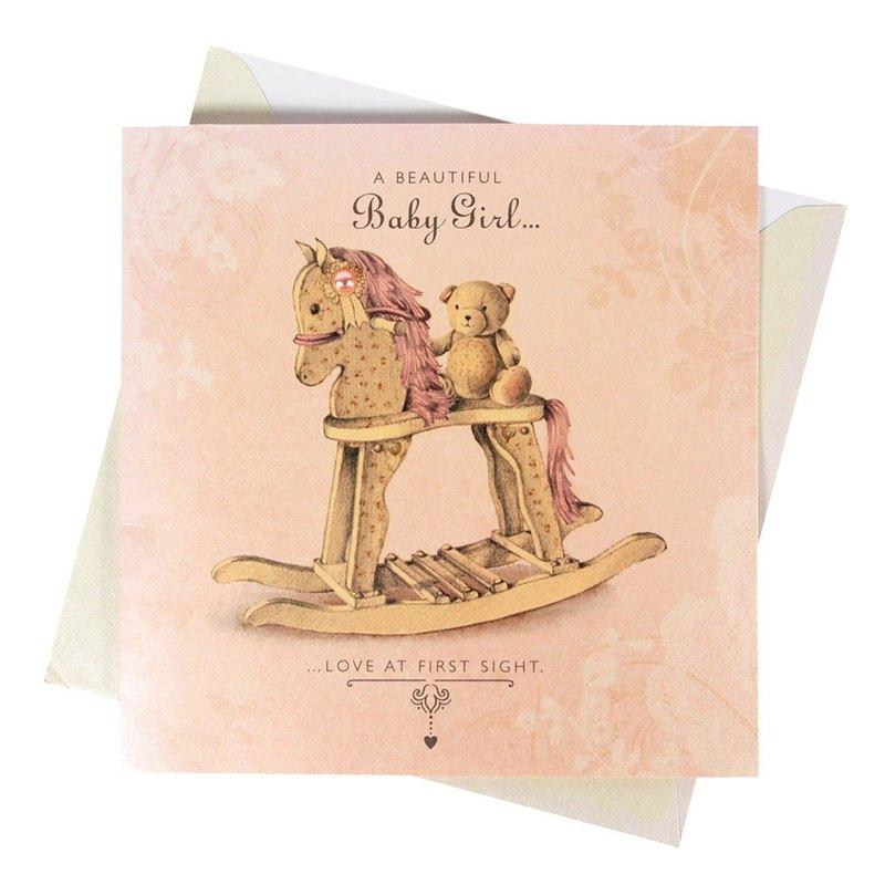 可愛的女寶寶【Hallmark-卡片 寶貝賀喜】