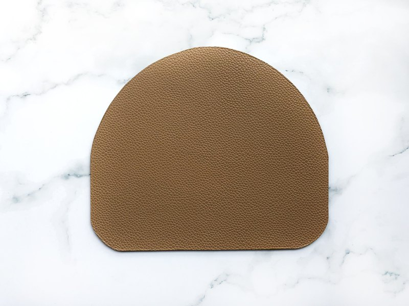 Leather / leather mouse pad