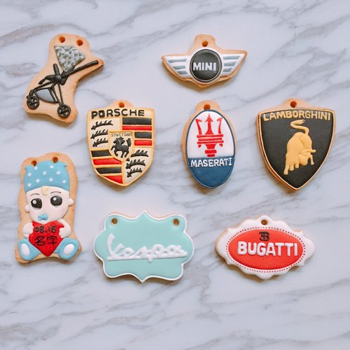 Dad's Dream Car 8 Pieces Receiving Cookies Sugar Cookies