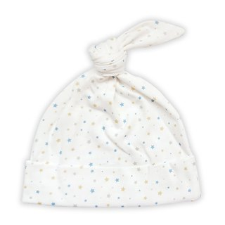 [Deux Filles organic cotton] stars with knotted baby hat
