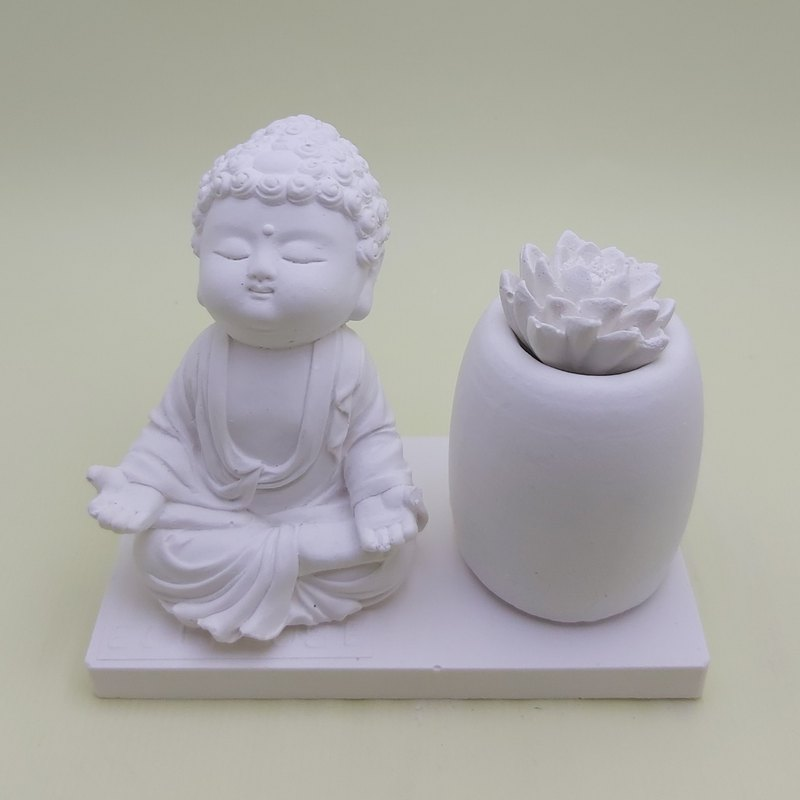 Miniature Small meditation Buddha NZ, incense  holder,Zen Garden Supply
