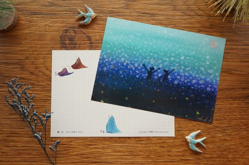 Xue delicate children :: :: Firefly Postcards / Cards