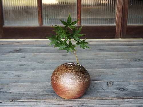 Bizen to put in one wheel 【Tama · Large】 _h2-040