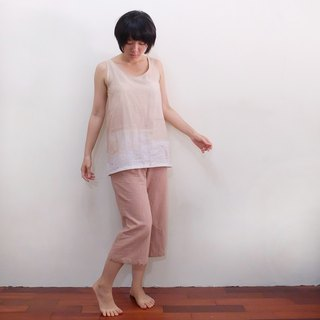 3:37 pm Wide trousers Japan's first dyed cotton cloth