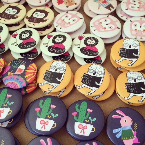 Special Offer / Pick Any 5 Button Badges