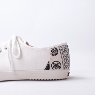 Bicycle Day | Small Kyoto home flower cloth. Small white shoes leather insole