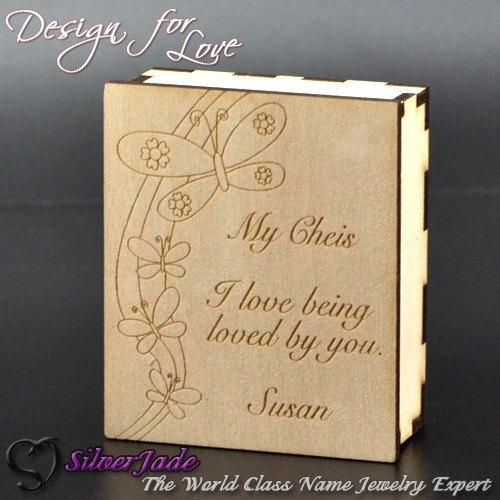 Customized .GB00002- custom content Aromatherapy Gift Pack (necklace box) (63mmx75mmx27mm)