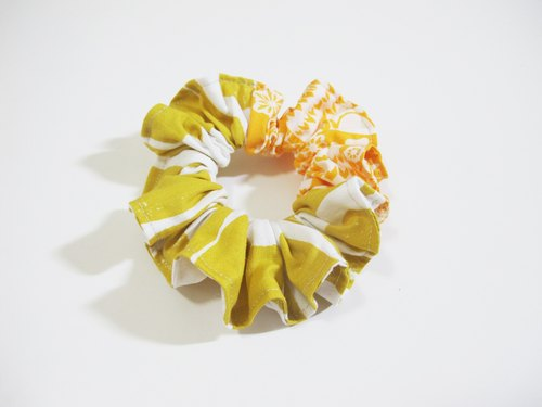[Grocery] E. VernaHuang Handmade hair accessories -06 yellow circle personalized few Graph