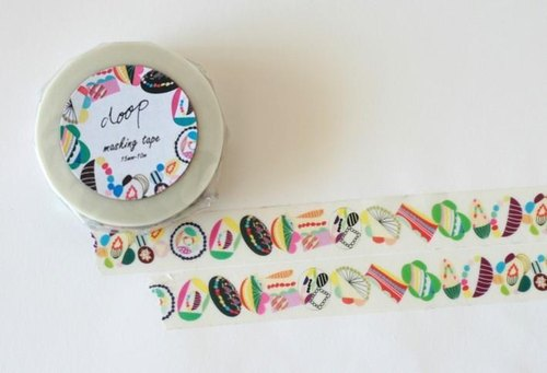 doop original masking tape _ flower garden