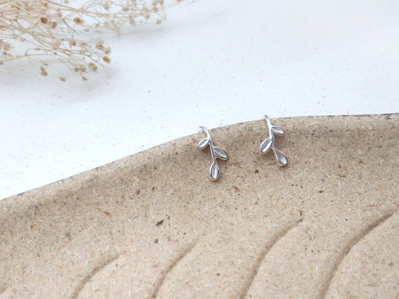 Sterling Silver Small Earrings Earhook (pair)