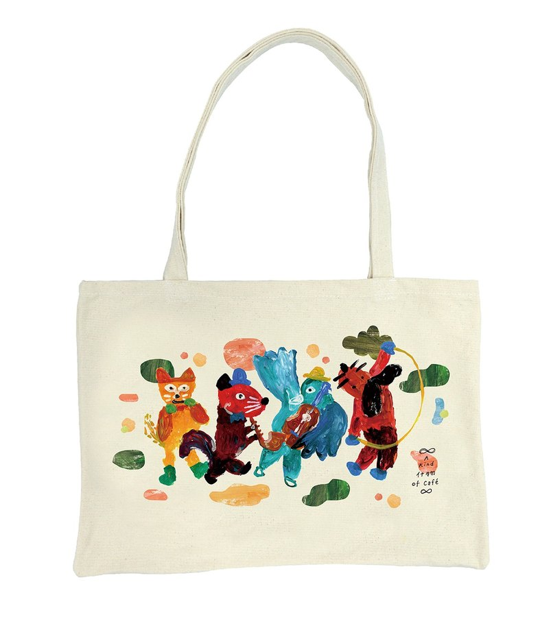 The Band Bizzarre Tote Bag